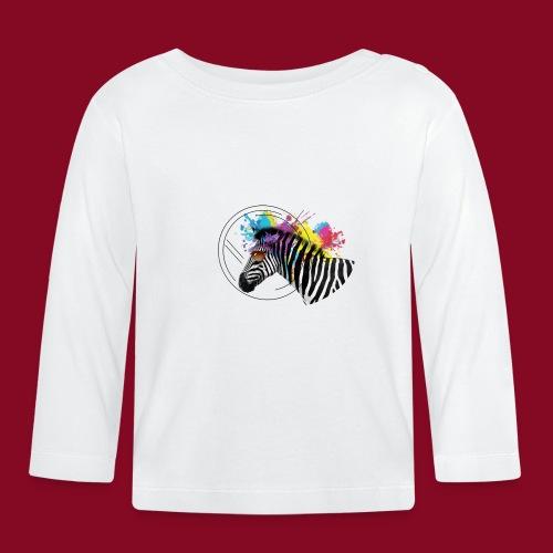 Watercolour-Z - Maglietta a manica lunga per bambini