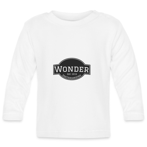 Wonder T-shirt - ol' small logo - Langærmet babyshirt