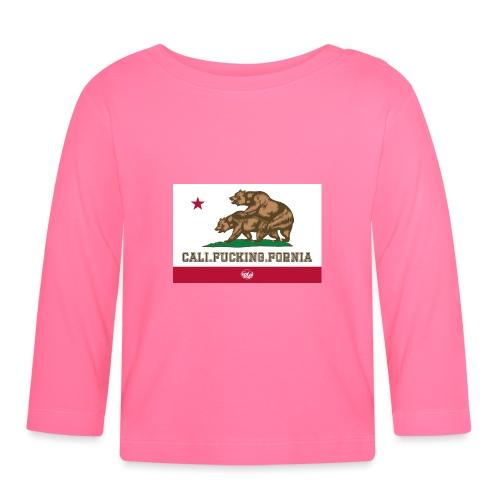 California, Californiano, Fuck, Orso - Maglietta a manica lunga per bambini