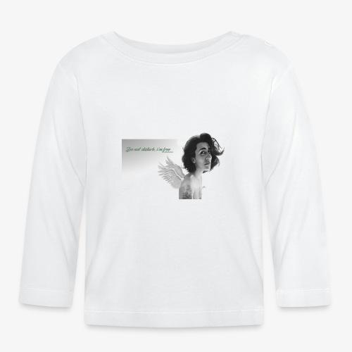 angel free - Camiseta manga larga bebé