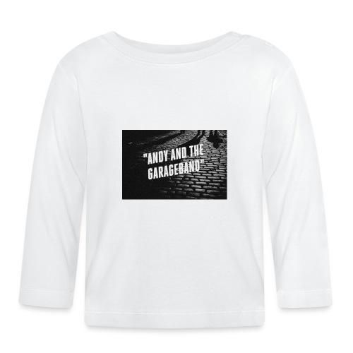 Black and White - Langarmet baby-T-skjorte