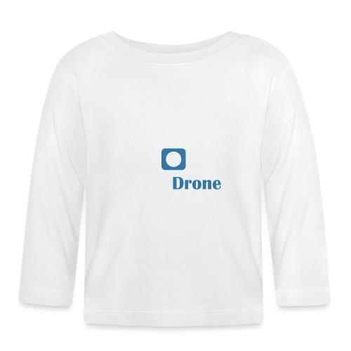 ListerDrone logo - Langarmet baby-T-skjorte