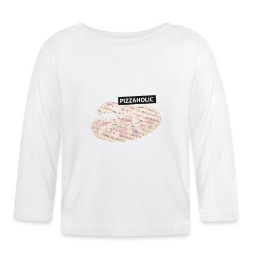 Pizzaholic - Langarmet baby-T-skjorte