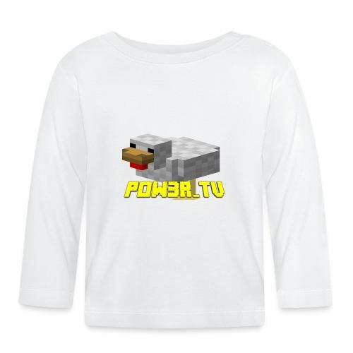 POW3R - Maglietta a manica lunga per bambini