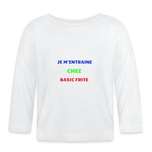 Basic Frite - T-shirt manches longues Bébé