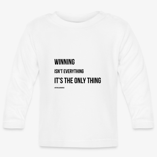 Football Victory Quotation - Baby Long Sleeve T-Shirt