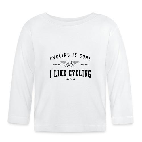 cycling - Koszulka niemowlęca z długim rękawem