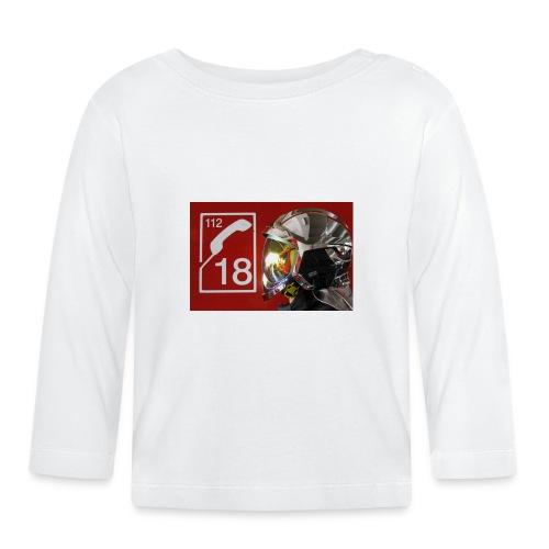 pompier 18 - T-shirt manches longues Bébé