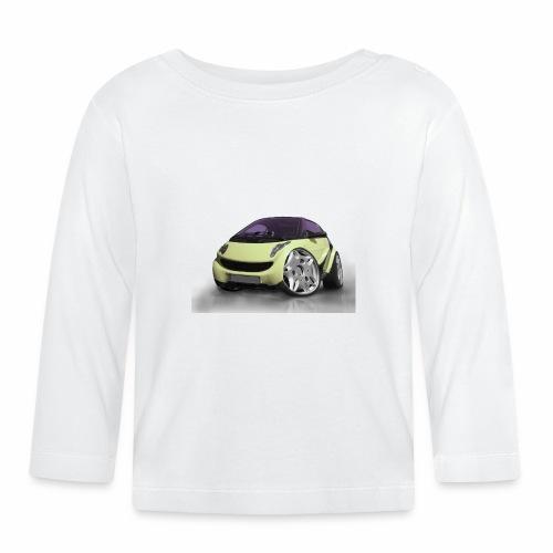 Smart, For two, Auto, Tuning, lustig - Baby Langarmshirt