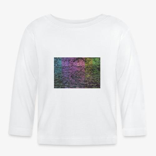 Regenbogenwand - Baby Langarmshirt