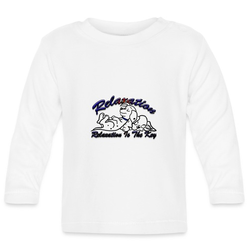 Relaxation Is The Key - Baby Long Sleeve T-Shirt