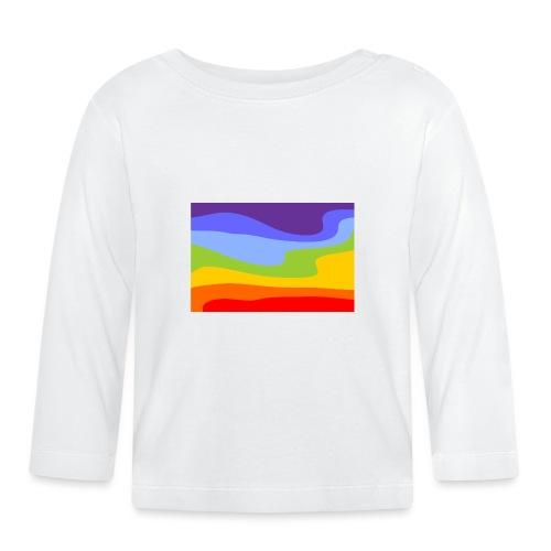 Hintergrund Regenbogen Fluss - Baby Langarmshirt