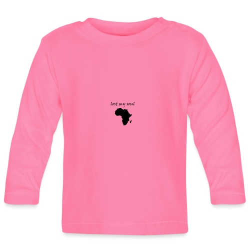 lost my soul in africa - Baby Langarmshirt