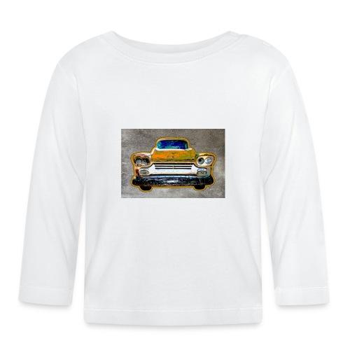auto vintage - Baby Langarmshirt