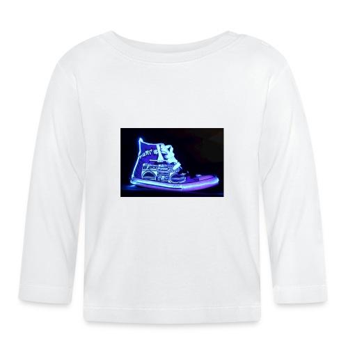 Jordan Schuh Lightpainting - Baby Langarmshirt
