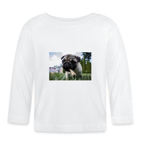 puppy dog - Baby Langarmshirt