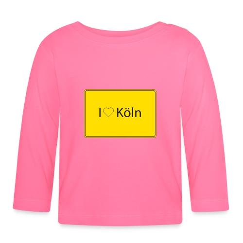 I love Köln - Baby Langarmshirt
