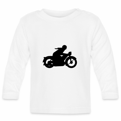 AWO driver silhouette - Baby Long Sleeve T-Shirt