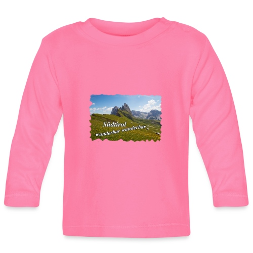 Südtirol - wunderbar wanderbar - Baby Langarmshirt