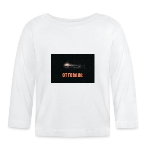 svart granit polerad - Långärmad T-shirt baby