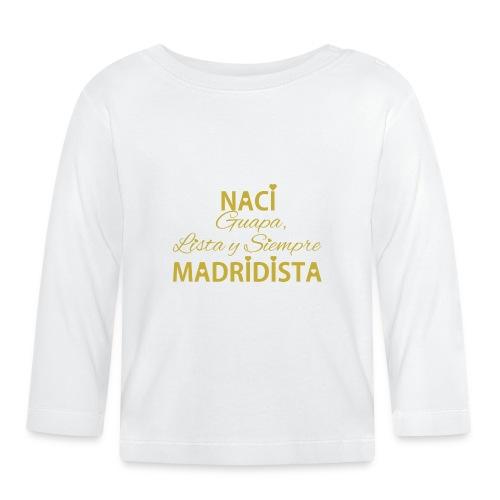 Guapa lista y siempre Madridista - Maglietta a manica lunga per bambini