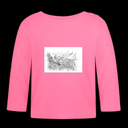 La panthère dans l'arbre - T-shirt manches longues Bébé