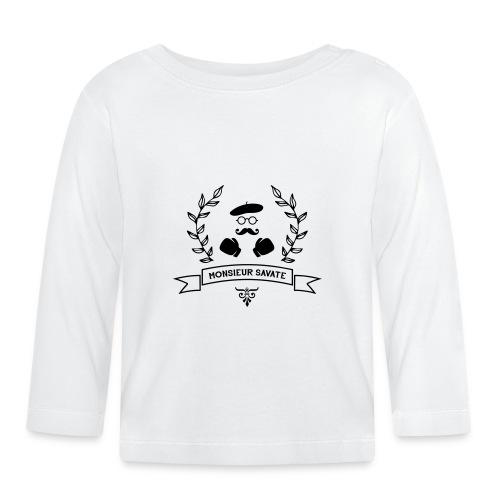 Monsieur Savate logo1 - T-shirt manches longues Bébé