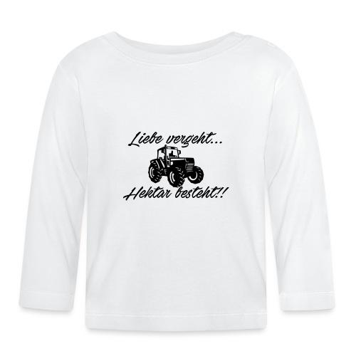 liebe vergeh - Baby Langarmshirt