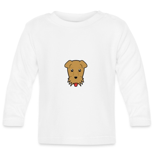 Shari the Airedale Terrier - Baby Long Sleeve T-Shirt