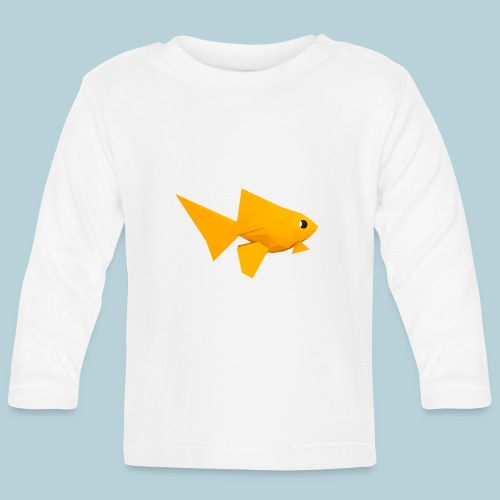 RATWORKS Fish-Smish - Baby Long Sleeve T-Shirt