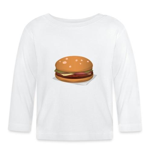 hamburger-576419 - Maglietta a manica lunga per bambini