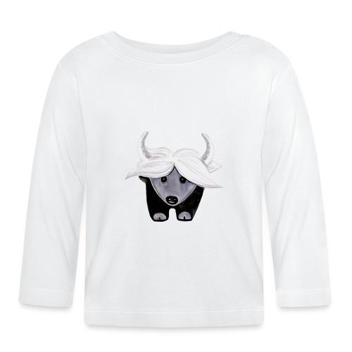 jaime_tibet_yak pillow - Baby Langarmshirt