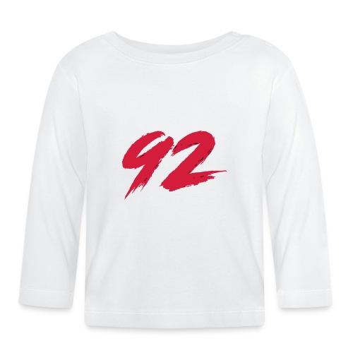 92 Logo 1 - Baby Langarmshirt