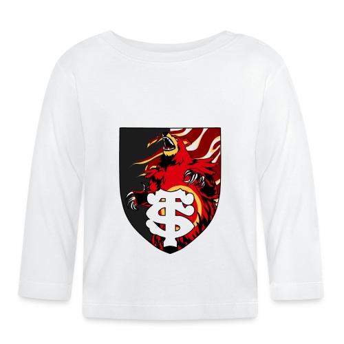 Stade touloursaring - T-shirt manches longues Bébé