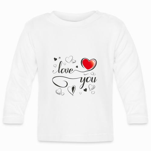 Love You - Baby Long Sleeve T-Shirt