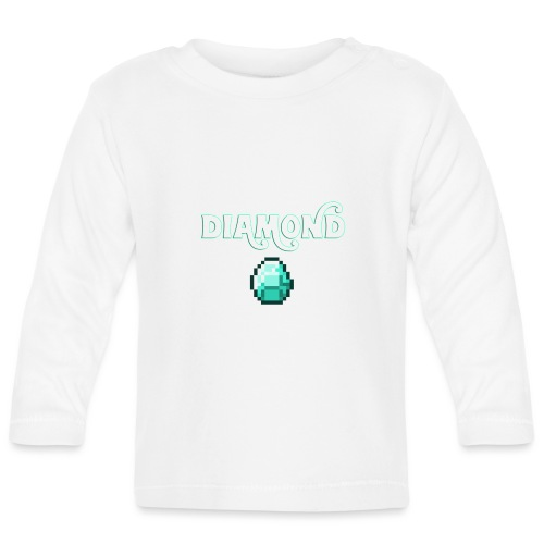 Diamond Boos - Maglietta a manica lunga per bambini