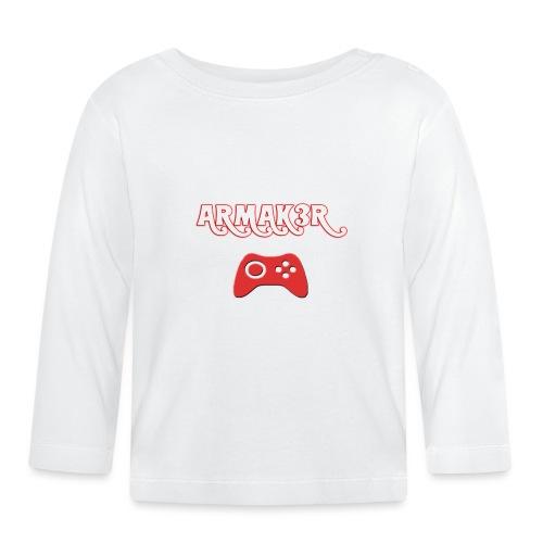 ARMAK3R - Maglietta a manica lunga per bambini