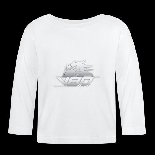 logo lionheartv80 chiaro trasparente - Maglietta a manica lunga per bambini