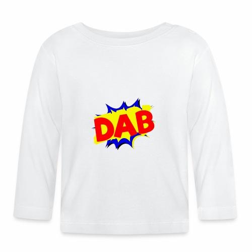 Dab fumetto logo - Maglietta a manica lunga per bambini
