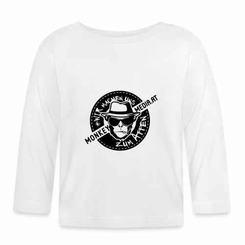 Vintage Monkey2 - Baby Langarmshirt