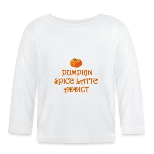 PumpkinSpiceAddict - Maglietta a manica lunga per bambini