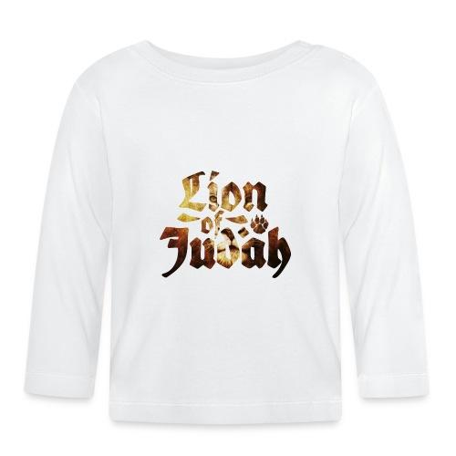 Lion of Judah - Rastafari Paw - Baby Langarmshirt