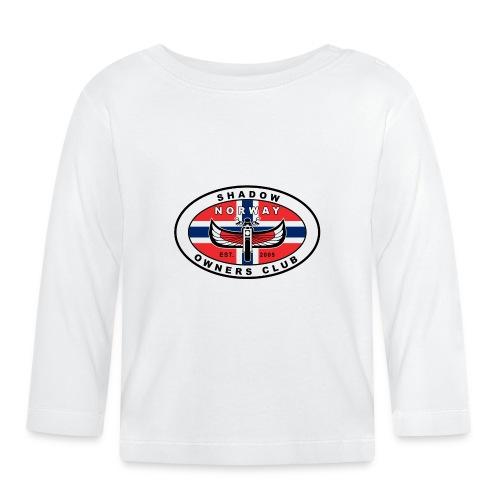 SHOC Norway Patch jpg - Langarmet baby-T-skjorte