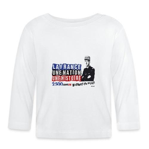 De Gaulle NOIR - T-shirt manches longues Bébé