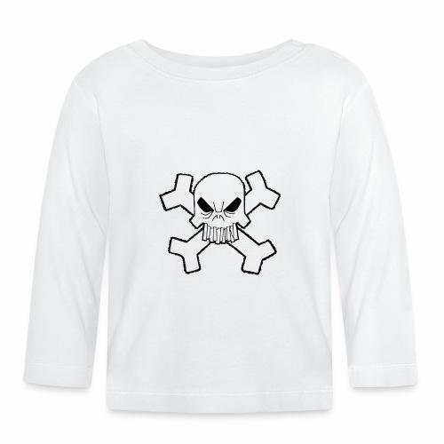 Craneo - Camiseta manga larga bebé