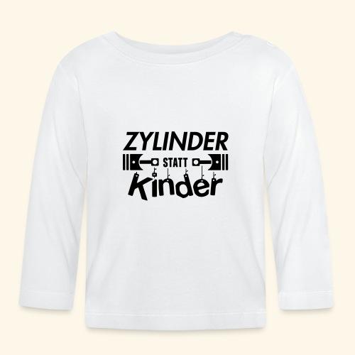Zylinder Statt Kinder - Baby Langarmshirt