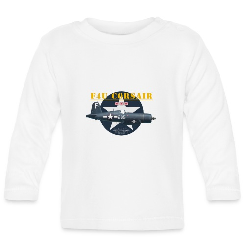 F4U Jeter VBF-83 - Baby Long Sleeve T-Shirt
