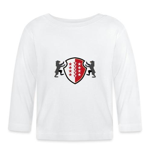 Shield of Valais - Wallis with bears - Baby Langarmshirt