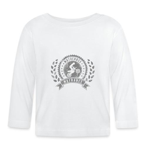Motocross Retro Champion - T-shirt manches longues Bébé