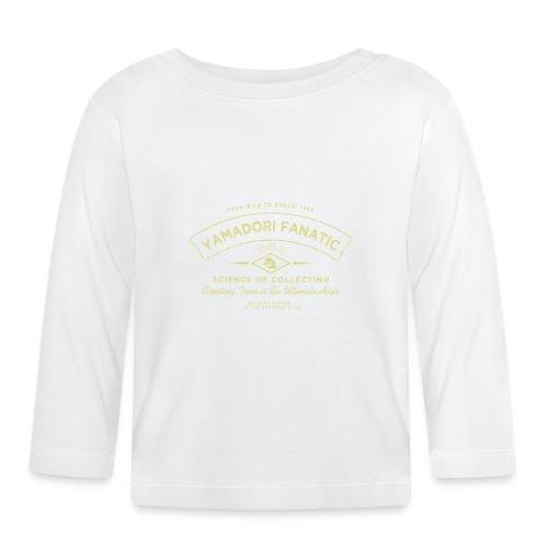 vintage_logo_yamadori_fanatic_or - T-shirt manches longues Bébé